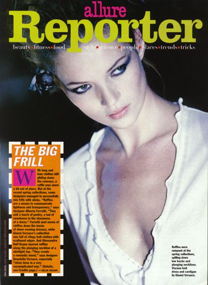Kate Moss en chair et en os !