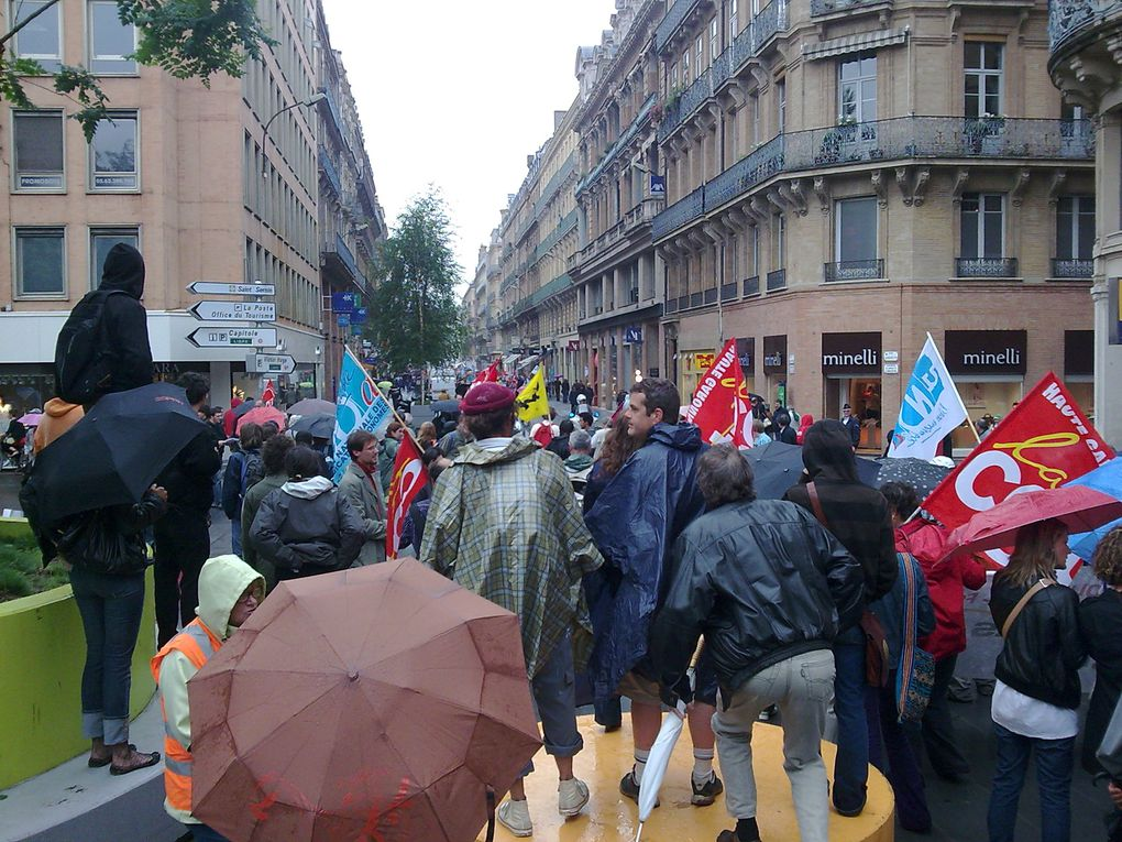 CGT mairie de Toulouse manif intersyndicale 26 mai 2009