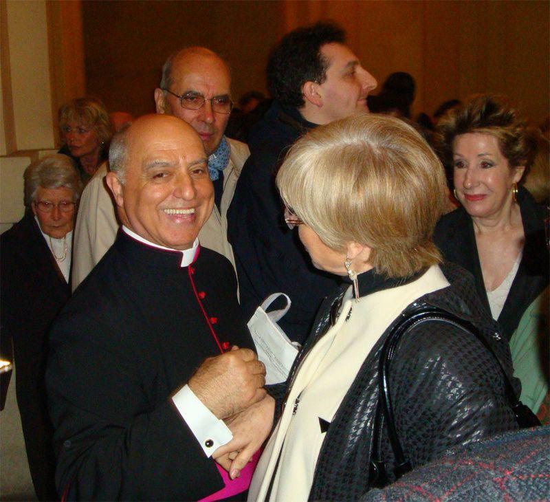 40ème anniversaire d'ordinationBasilique du Sacré-CoeurMarseille 29 mars 2009