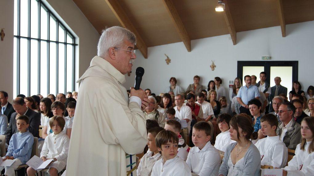 Baptêmes, premières communions et professions de foi de Saint Adjutor
