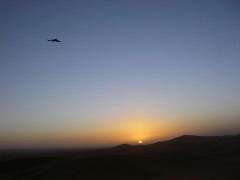 Images des stages carnets de voyages et aquarelle dans le désert marocain