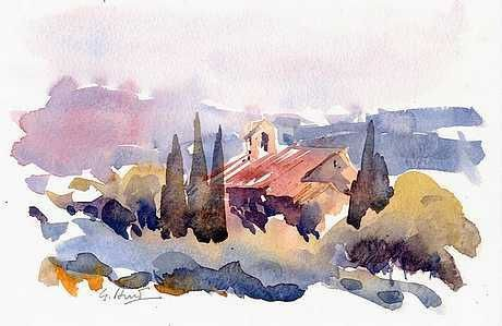 Album - stage aquarelle en Provence