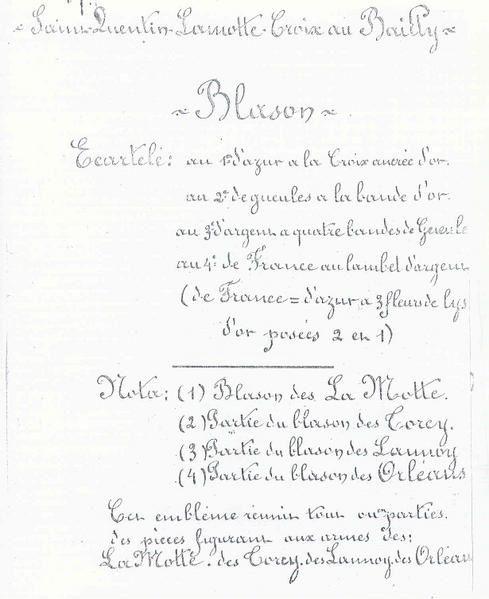 Histoire du Vimeu et de Saint Quentin Lamotte
