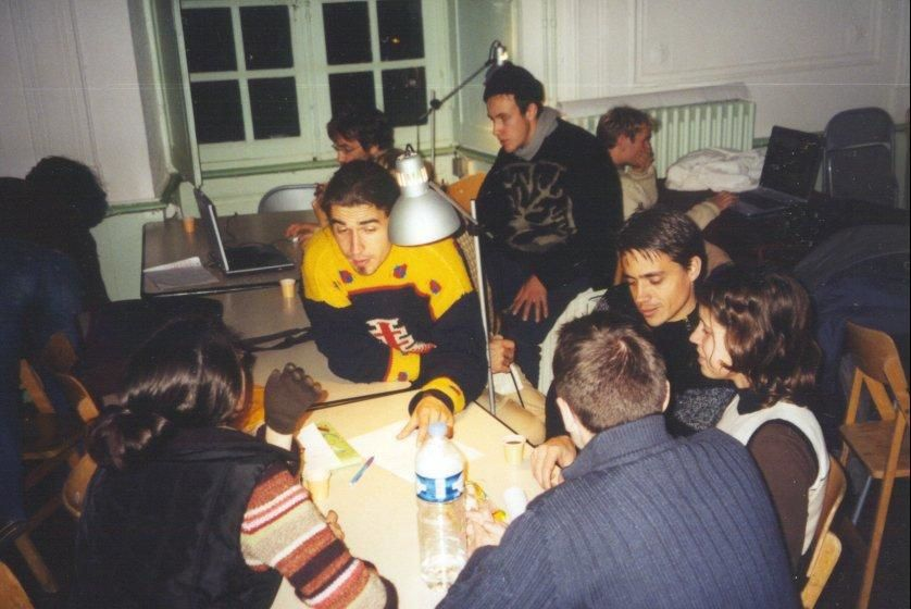 Some pictures from the last seminary at Lavoute Chilhac (Nov. 2004)