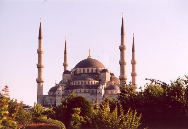 Photos de la ville d'Istambul prises lors de mon voyage &agrave&#x3B; v&eacute&#x3B;lo en cyclo camping en Turquie en 2004