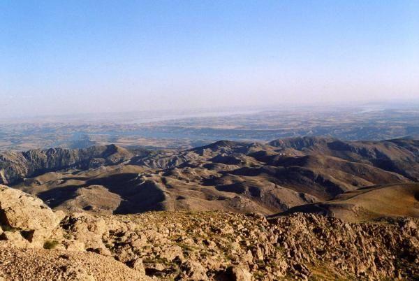 Photos du site de la montagne Nemrut au centre-est de la Turquie &agrave&#x3B; 100Km au sud de Malatya.