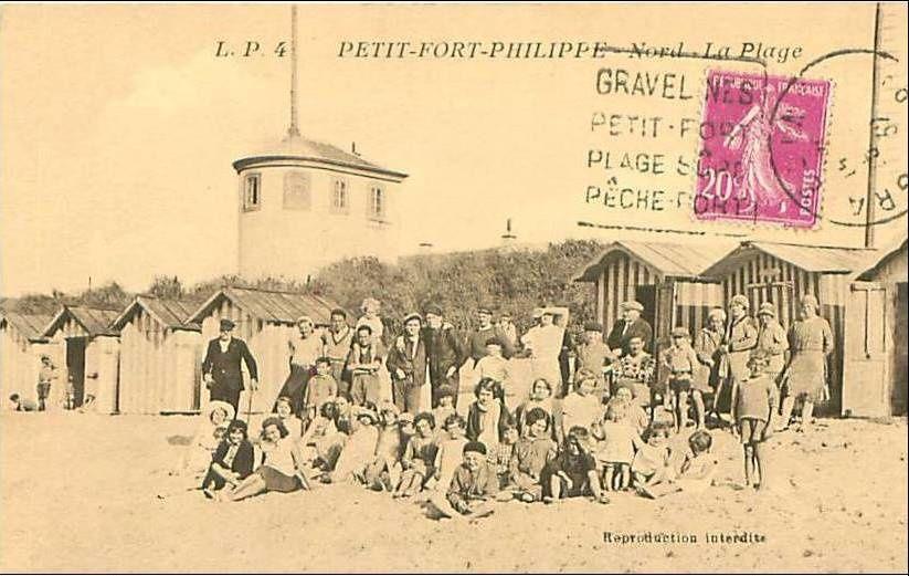 Photos anciennes de Petit- Fort-Philippe et de Grand-Fort-Philippe Vues du port