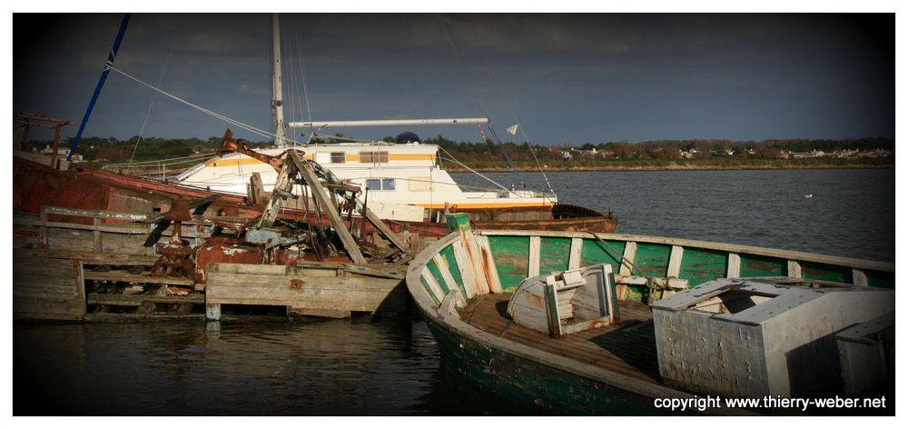 Bateau oubliés dans les ports de Bretagne - Photos Thierry Weber Photographe de Mer - La Baule Guérande