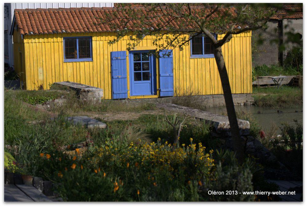 Escale à Oléron - Les cabanes ostréïcoles - Photos Thierry Weber Photographe La Baule Guérande
