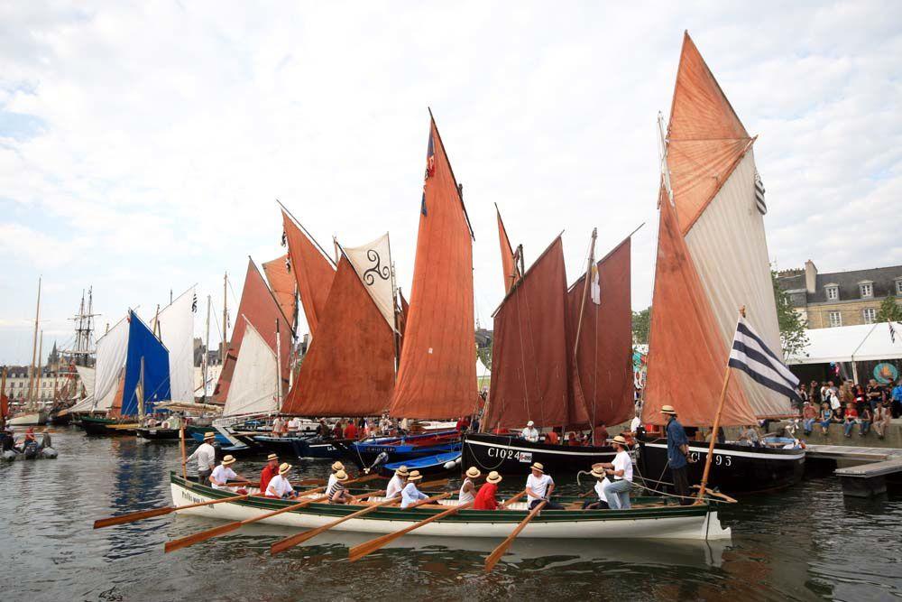La grande parade de la semaine du Golde du Morbihan 2009 - Port de Vannes