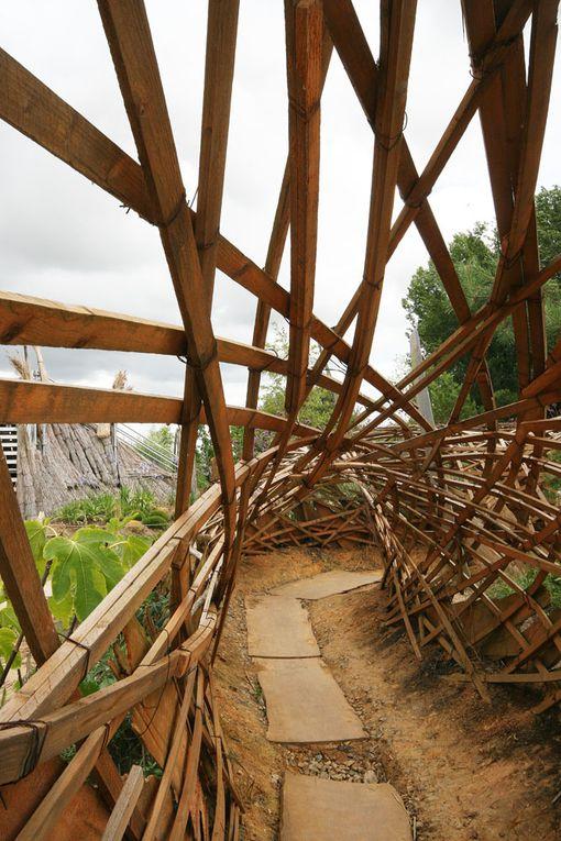 Le Jardin Etoilé de Kinya Maruyama à Paimboeuf Estuaire Nantes Saint Nazaire 2009