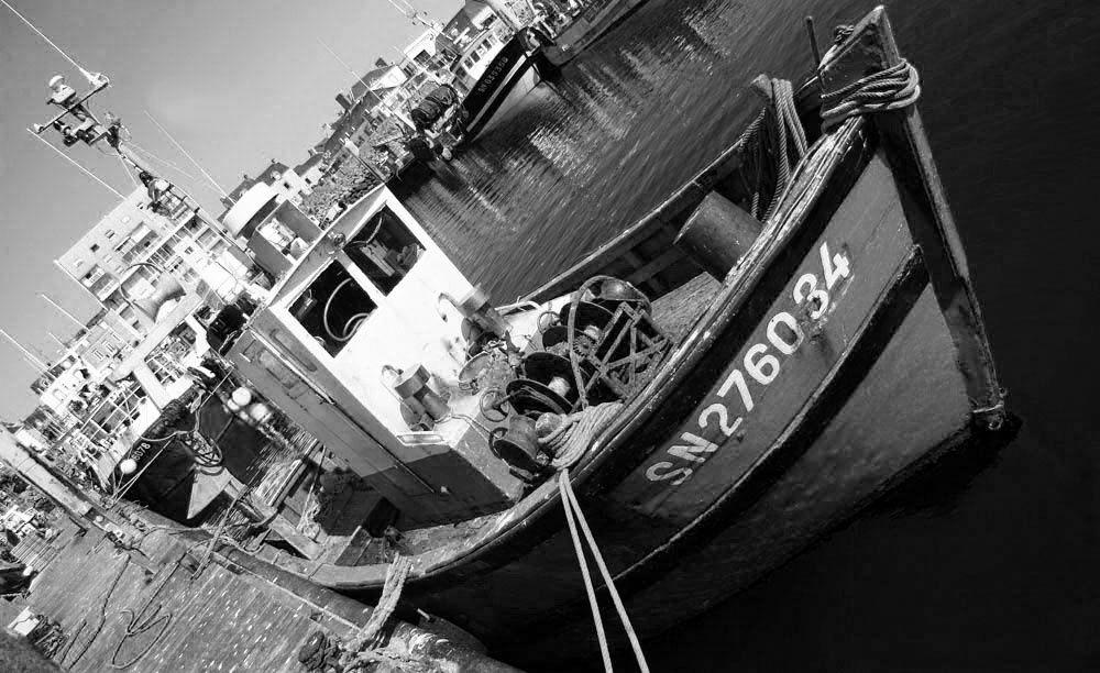 Le monde de la pêche en noir et blanc - Photos Thierry Weber