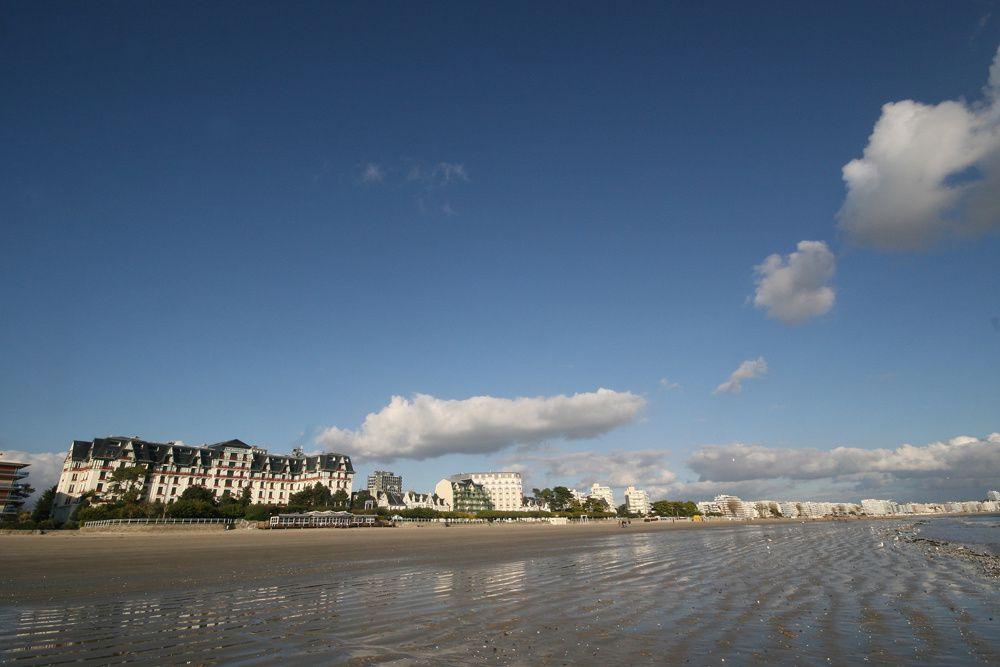 La plage et la Baie de La Baule en automne - Photos Thierry Weber Photographe La Baule Guérande