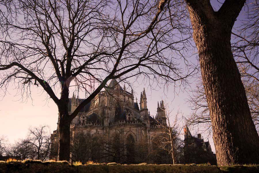 Photos de la ville de Nantes en hiver