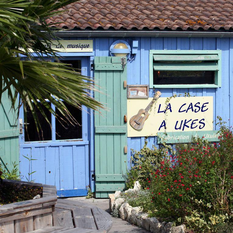 Les cabanes d'ostréiculteurs Le Château d'Oléron - Photos Thierry Weber Photographe La Baule Guérande