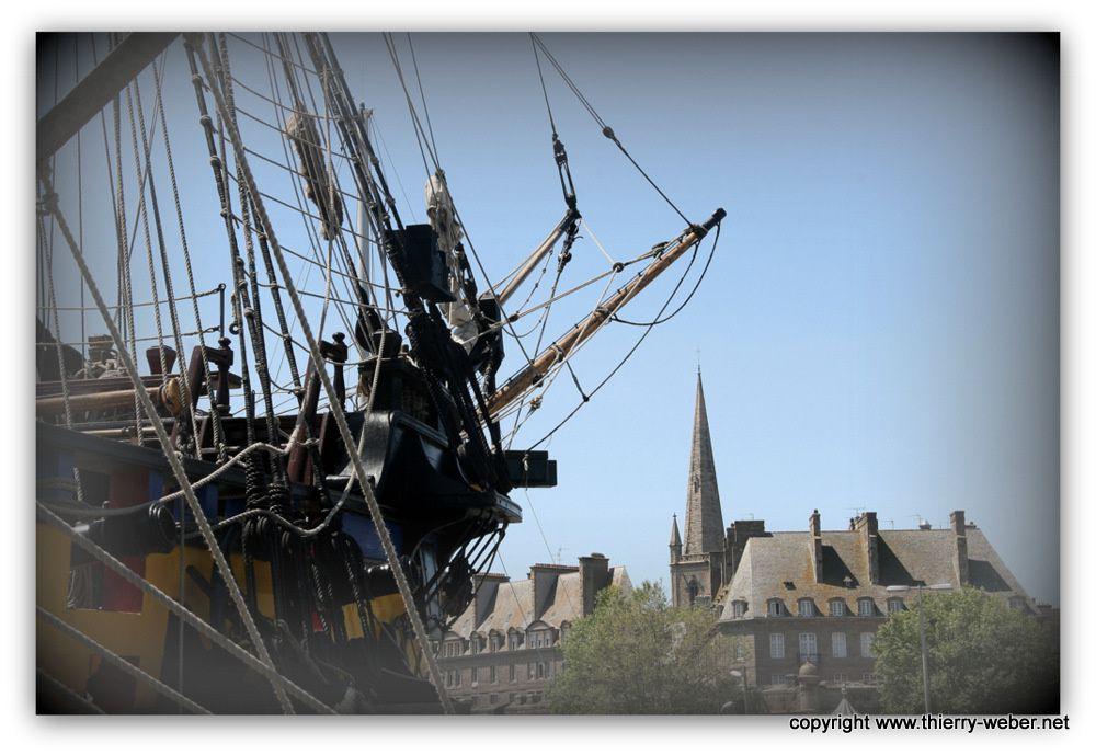 Les remparts de Saint-Malo - Photos Thierry Weber - Photographe de Mer La Baule Guérande