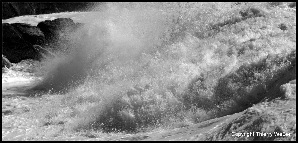 Photos de la Tempête Ulla 14 Février 2014 Côte Sauvage Le Croisic Batz-sur-Mer - Photos Thierry Weber La Baule Guérande