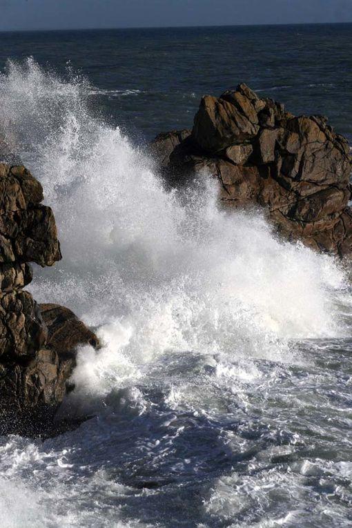Images de tempêtes Mars 2009 Côte Sauvage Le Croisic Batz sur Mer