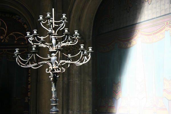 Quelques photos de l'int&eacute&#x3B;rieur de la Cath&eacute&#x3B;drale Saint Etienne &agrave&#x3B; Metz...