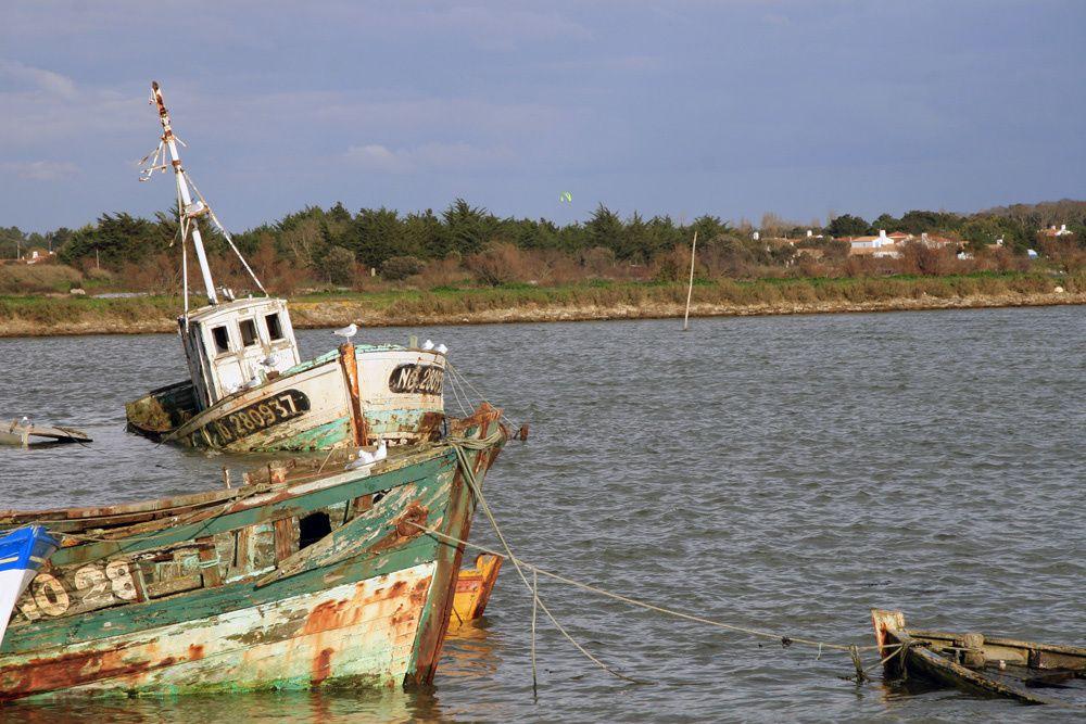 Album - Cimetière de bateaux à Noirmoutier
