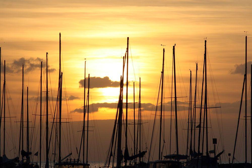 Album - Coucher soleil port de Pornichet