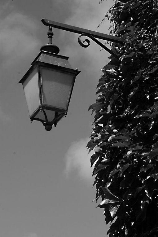 Photos de la ville de Guérande en noir et blanc