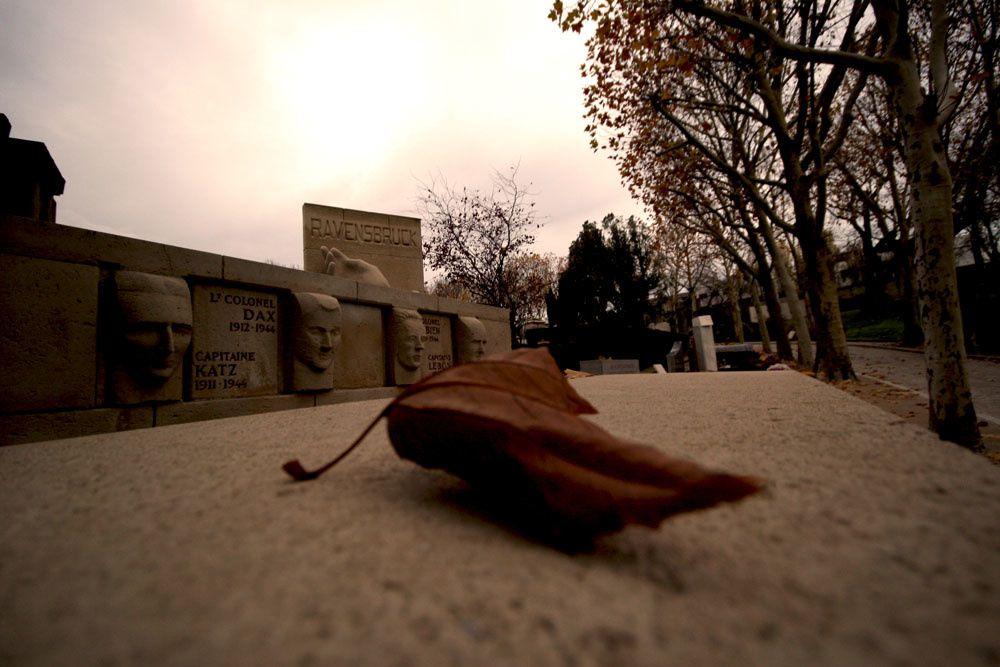 Photos du Cimetière du Père Lachaise en Novembre