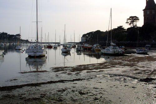 Photographies de bateaux dans les ports de Bretagne...