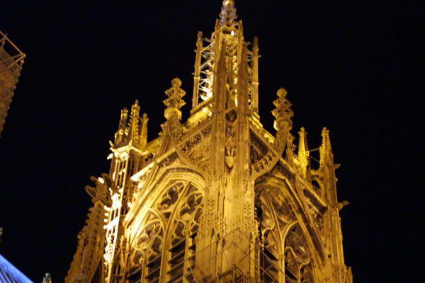 Voici quelques images de ma ville natale, Metz, en Lorraine