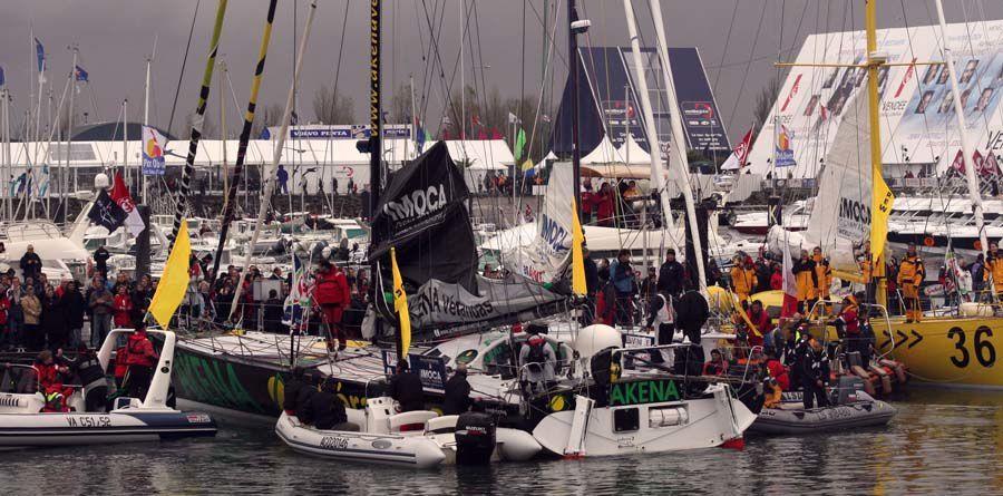 Le départ du Vendée Globe 2008 - Les Sables d'Olonnes