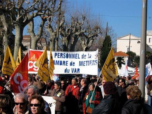 Un petit portofolio de la manifestation de Draguignan du 29/01/09.(photos : C. Dépret)