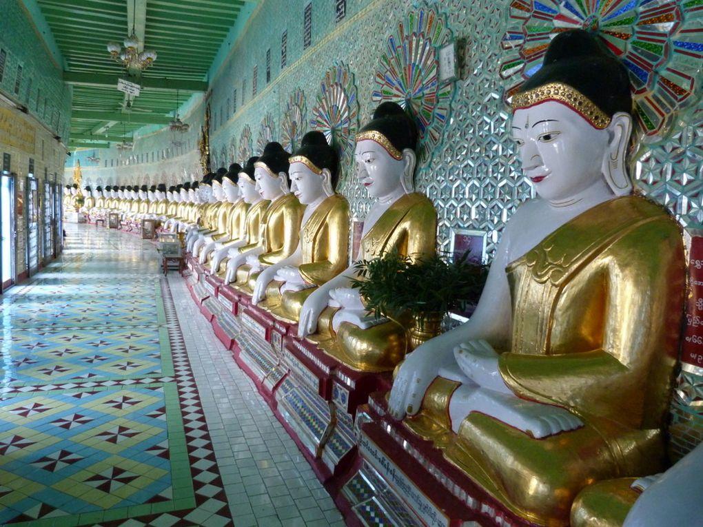 Quelques images de notre visite de la Ville de Mandalay