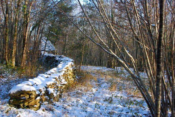 Quelques images de Carsac Aillac de Groléjac de Milhacet des environs: Les toits d'Aillac, les ruines du château Eglises romanes de Carsac et Groléjac