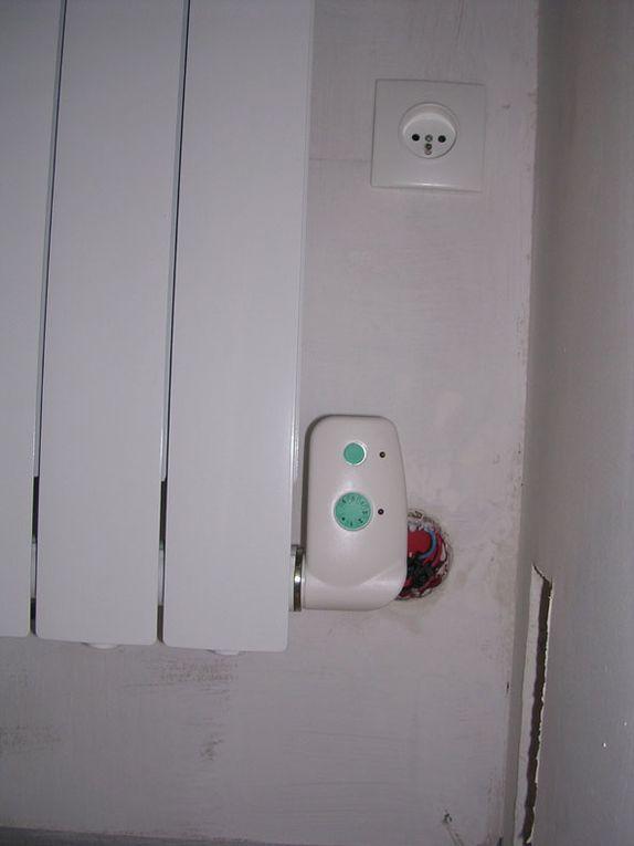 photos des travaux électriques de la maison