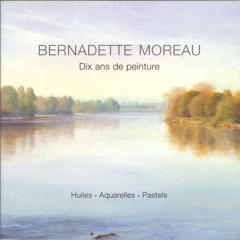 Album - livre-Bernadette Moreau-10-ans-de-peinture