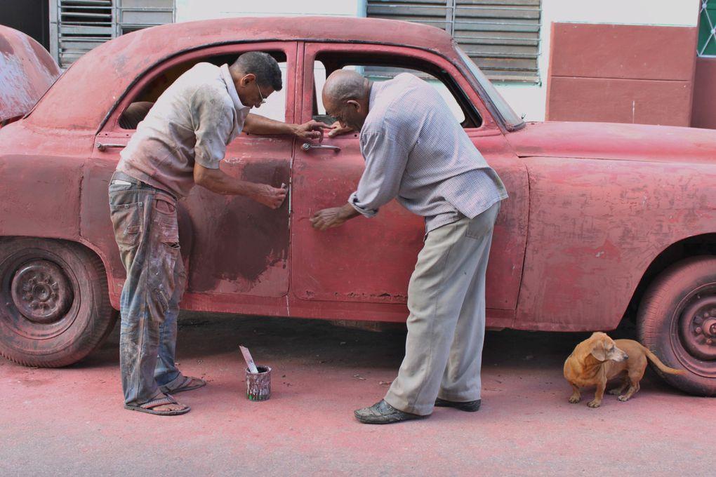 La Havane, vallée de Viñales, Trinidad, Cayos du nord de Cuba, ombre du Che et autres monuments de l'île... Plongée d'un mois à Cuba. Que aprovechen! :)