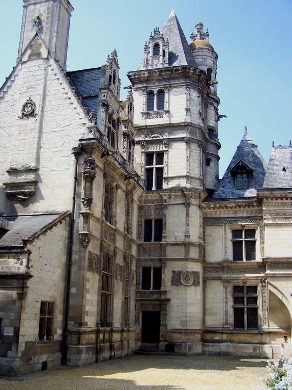 Des rues pavées, des maisons à colombages, des noms de rues bizarres, des cathédrales, etc... Bienvenue dans le centre du Mans et d'Angers!