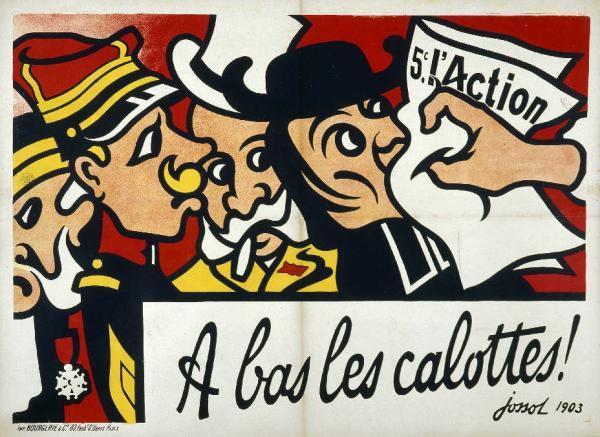"""Ces images sont tir&eacute&#x3B;es de l'ouvrage<a href=""""http://www.amazon.fr/exec/obidos/ASIN/2732432881/402-8877018-8716901""""> <span style=""""FONT-WEIGHT: bold&#x3B; FONT-STYLE: italic"""">La R&eacute&#x3B;publique et l'Eglise. Images d'une querelle</span></a> de Michel Dixmier, Jacqueline Lalouette et Didier Pasamonik, aux Editions de La Martini&egrave&#x3B;re.<br />Elles proviennent de la collection de <span style=""""FONT-WEIGHT: bold"""">Michel Dixmier</span>, militant de la section de Gentilly."""