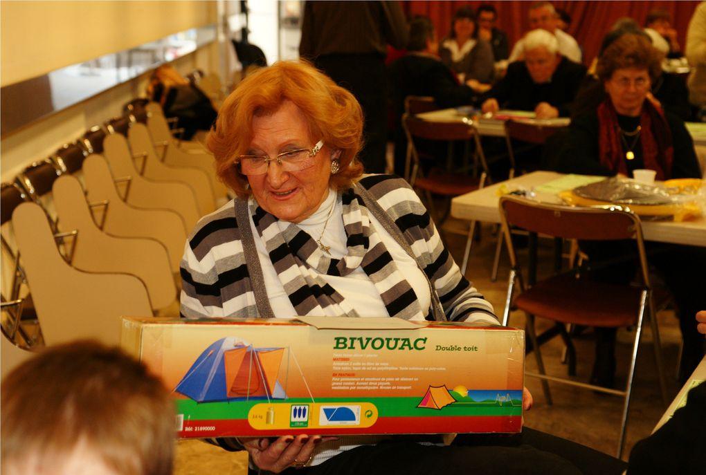 6 février 2011. Loto au profit de l'AFAM à la maison des associations.