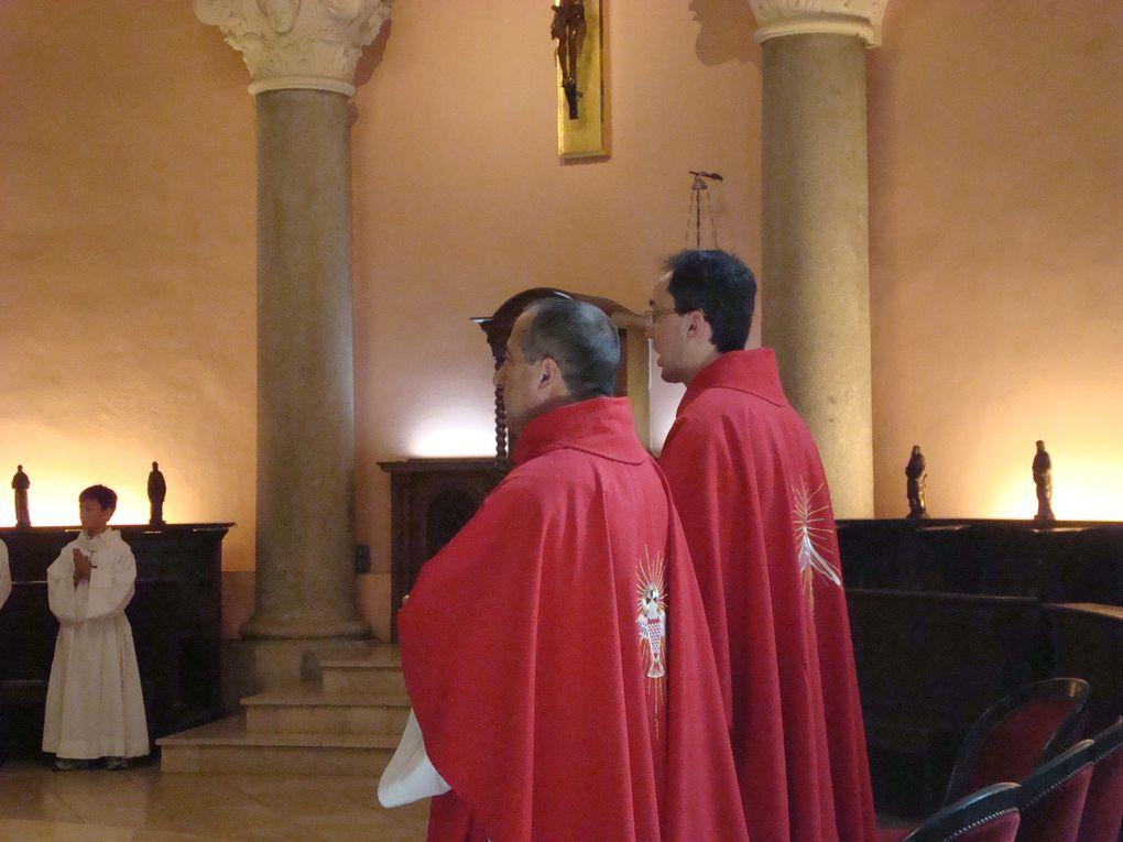 28 mai 2011. Confirmations des collégiens du bassin cannois à Notre-Dame de bon Voyage.