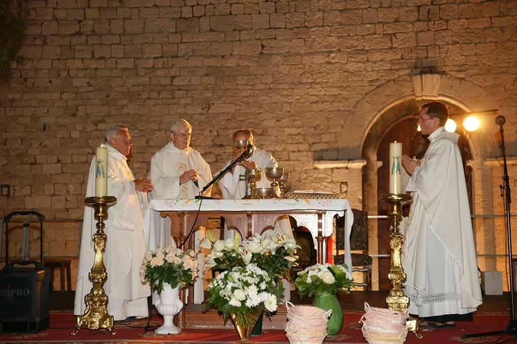 14 août 2011. Fête de l'Assomption de la Vierge Marie la veille du 15 août, en nocturne !