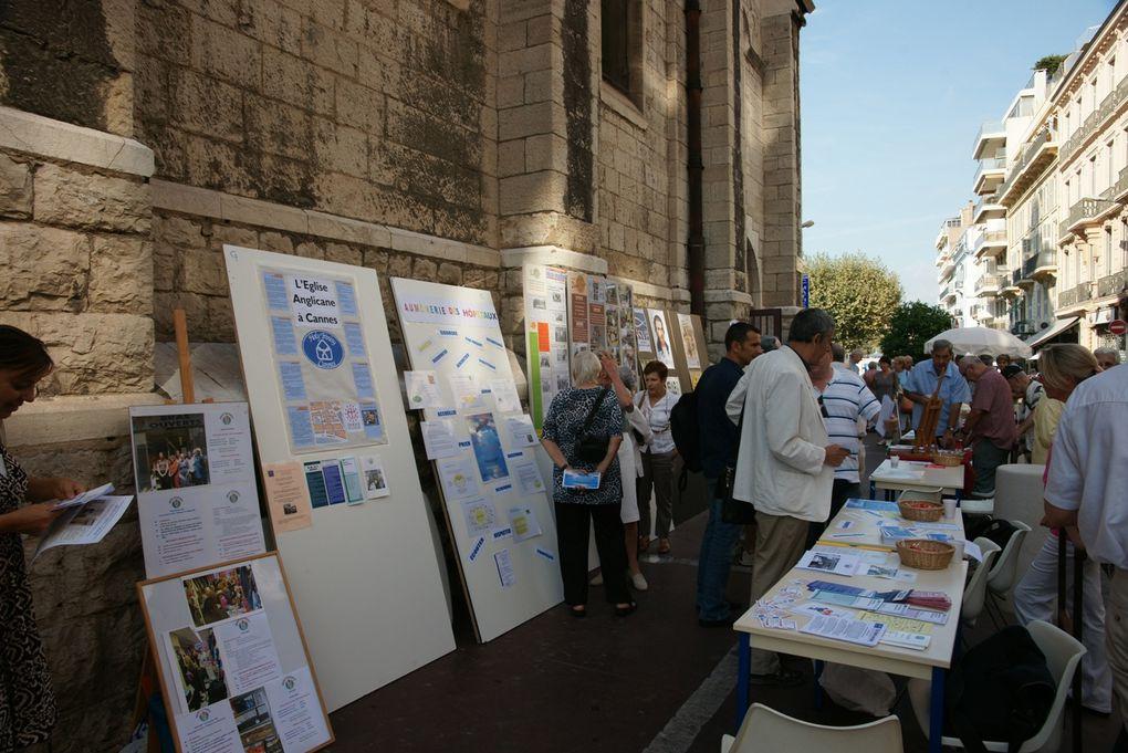 17 septembre 2011. Journée de la solidarité organisée par les mouvements chrétiens.
