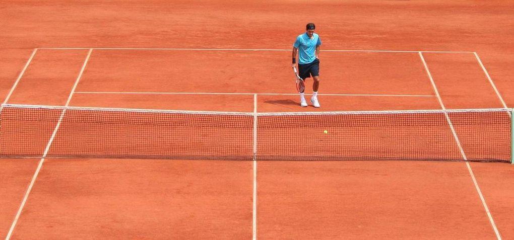 Quelques photos du 1er week-end de la quinzaine 2007... Avec Ana Ivanovic, Federer, Moya...