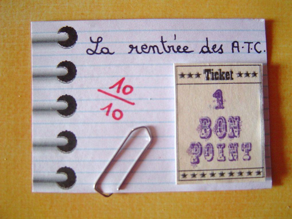 Album - A.T.C. envoyées - 1