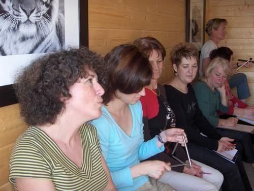 <p><strong>Dimanche de répétition chez Nathalie.</strong></p>