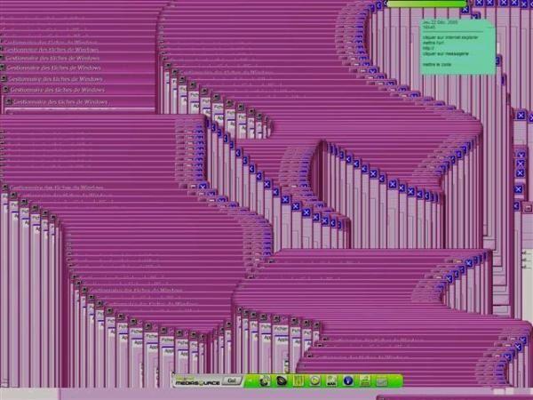Lorsque mon ordi est plant&eacute&#x3B;, j'en profite pour faire des captures d'&eacute&#x3B;cran, puis des cyberbugstablos!