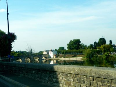 Sur les routes de l'Indre pour un reportage...