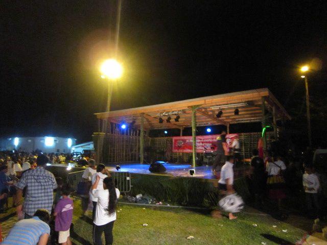 la soirée du 13 juillet et le 14 juillet 2011 à wallis .