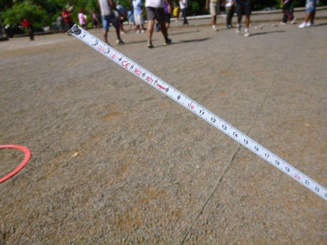une journée de pétanque à Ahoa le dimanchee 24 juin 2012