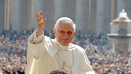 Photos de Notre Pape Beno&icirc&#x3B;t XVI